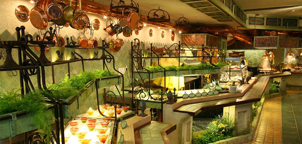 Декор интерьера ресторанов Грабли