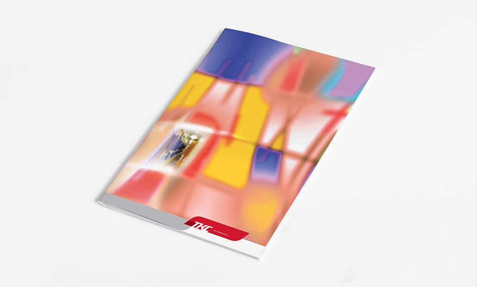 Дизайн и вёрстка презентационного буклета