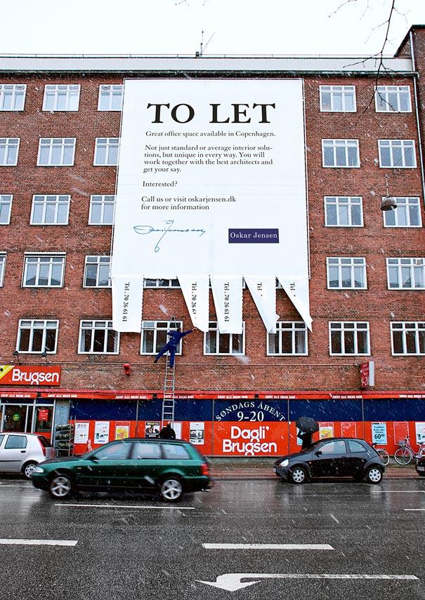 Bitsch+Lundquist, креативный билборд