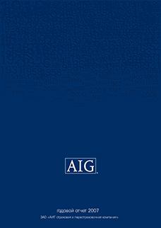 Электронный годовой отчёт AIG