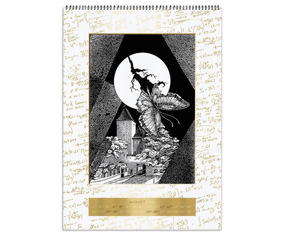Оригинальный корпоратвиный календарь