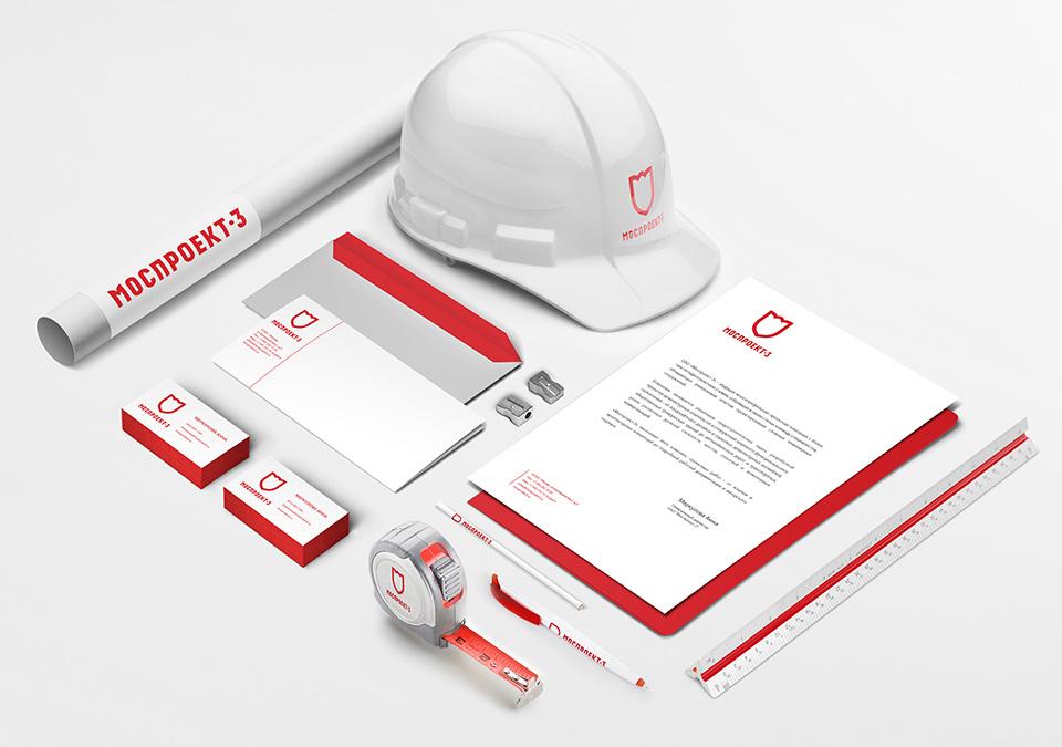Фирменный стиль для ведущей строительной компании