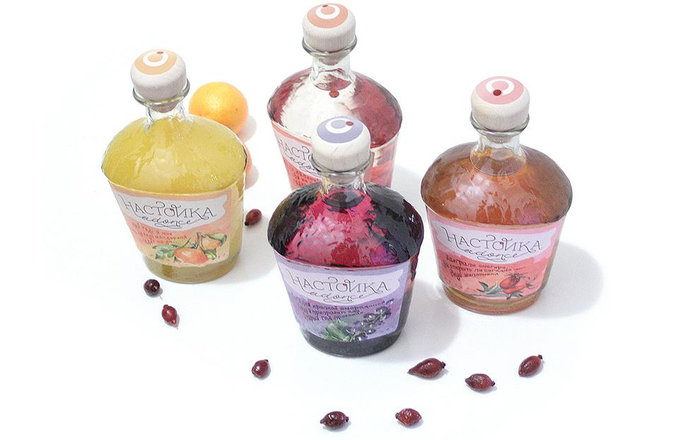 Разработка дизайна упаковки в серии: алкогольная продукция