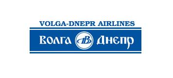 Логотип авиакомпании Волга-Днепр