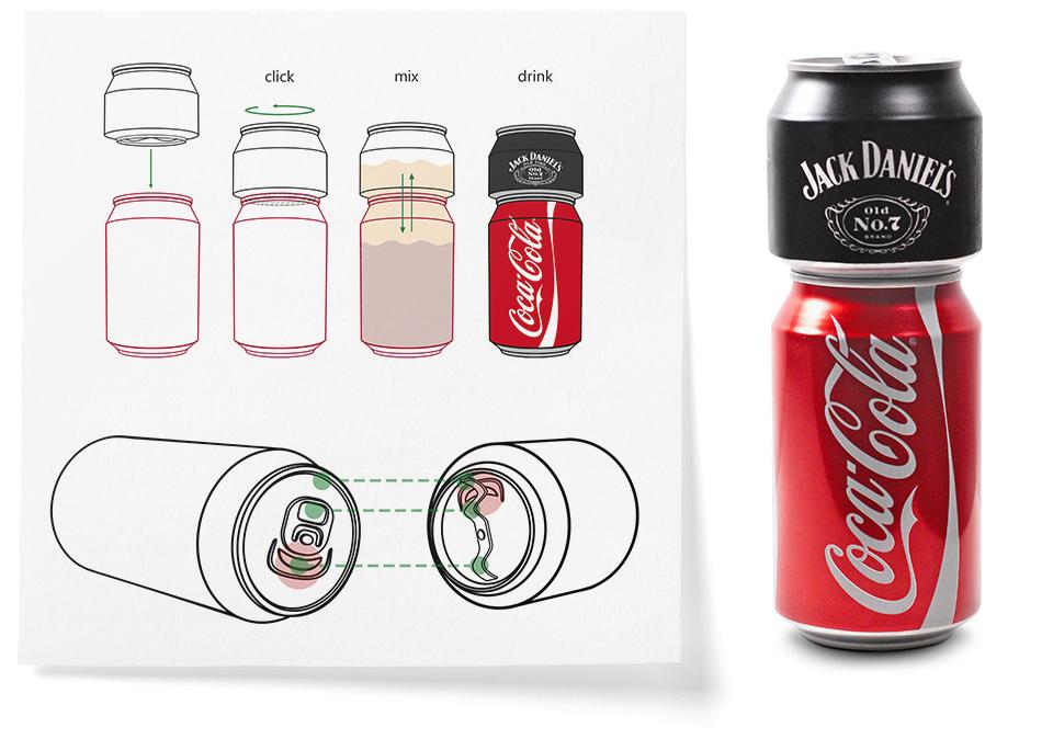 Разработка дизайна безалкогольных напитков