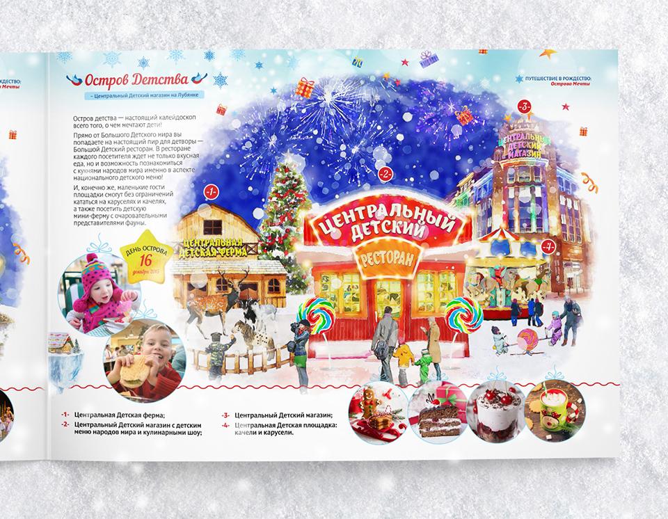Разработка дизайна новогоднего декора