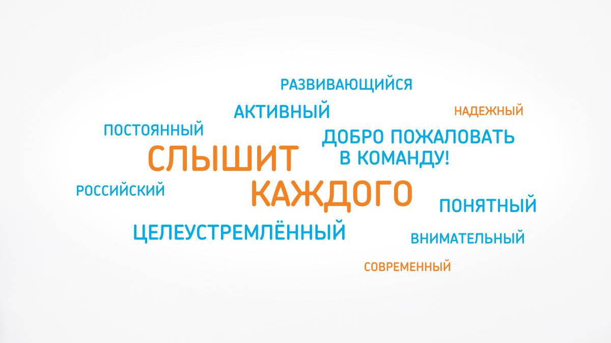 Дизайн внутренних коммуникаций Ростелеком Контакт-центра